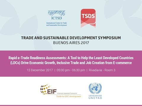 Rapid e-Trade Readiness Assessments: A tool to help the Least Developed Countries (LDCs) drive...
