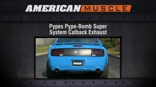2005-2010 Mustang Pypes Exhaust Sound Clip Pype-Bomb Super System Catback (GT) Review