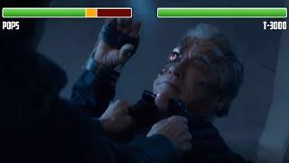 Pops vs. T-3000 Terminator WITH HEALTHBARS | Final Fight | HD | Terminator: Genisys