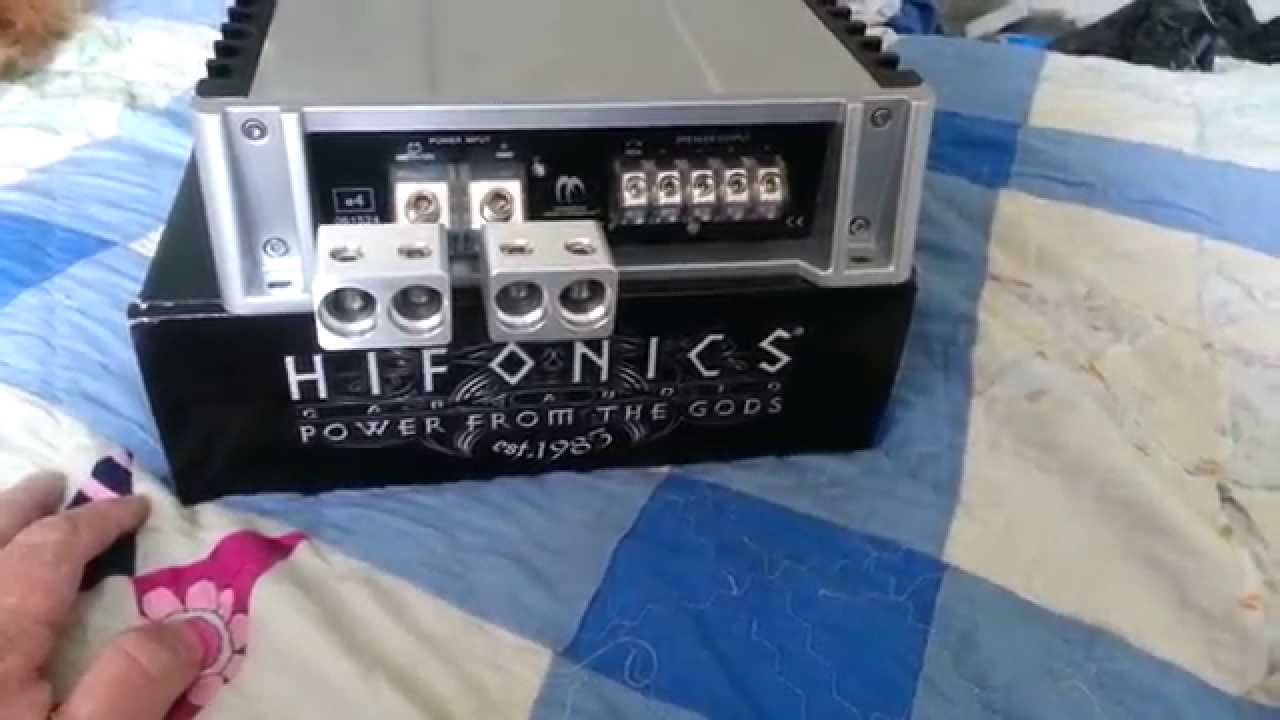Toolmaker Inputs Hifonics Tutorial How To Hook Up On The Wiring Diagram Amp