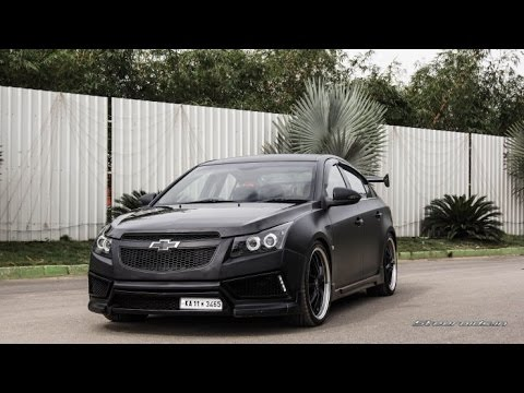 Modified Chevy Cruze In India Youtube