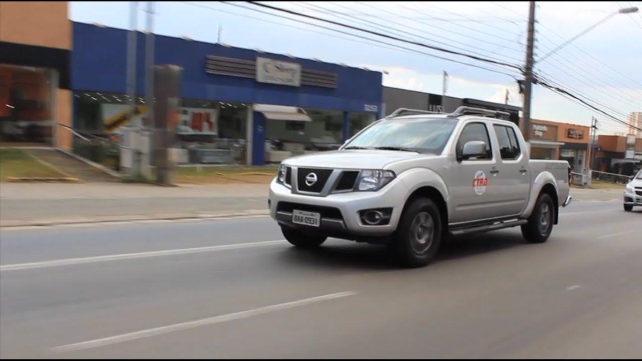 Teste Nissan Frontier 2016 Sv Avaliação De Performance