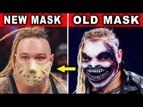 5 Current WWE Wrestlers Who Changed Their Mask or Look in 2020 - New Bray Wyatt Fiend Mask Revealed