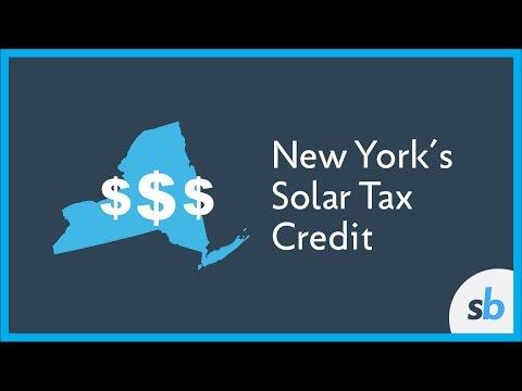 New York Solar Tax Credit