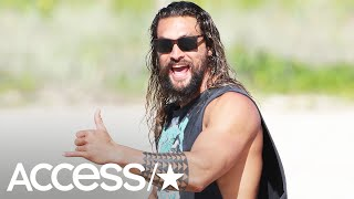 Jason Momoa Entertains Everyone While Trapped In Hotel Elevator For 2 Hours