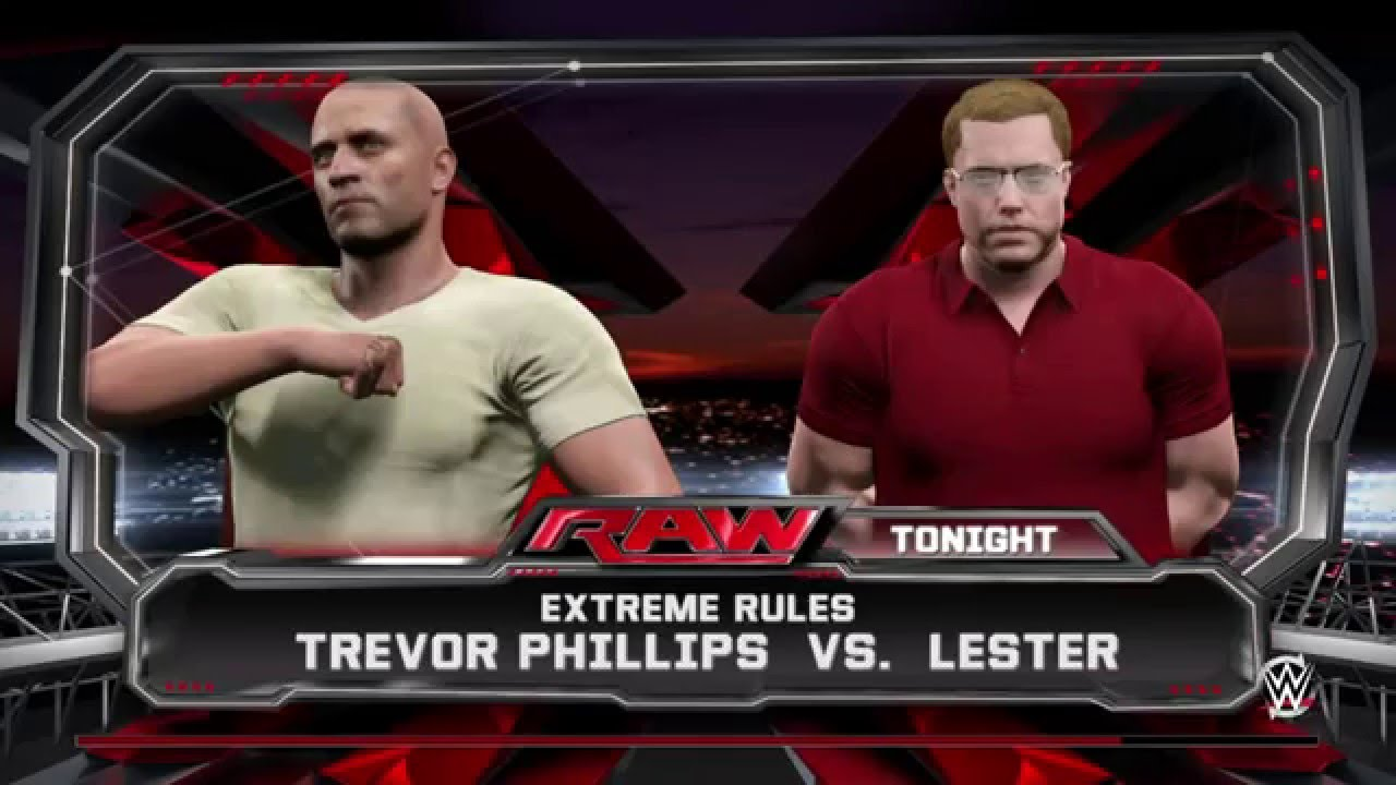 Trevor Philips Vs Lester Crest Gta King Of The Ring Round 1