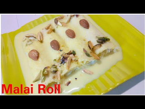 Malai Roll recipe by Kitchen with Rehana