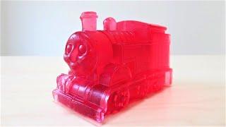 Strawberry hard jelly Thomas & Friends イチゴゼリー きかんしゃトーマス
