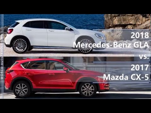 2018 Mercedes-Benz GLA vs 2017 Mazda CX-5 (technical comparison)