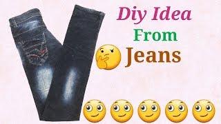 How to make New design Handbag from old jeans // Handbag Full Tutorial
