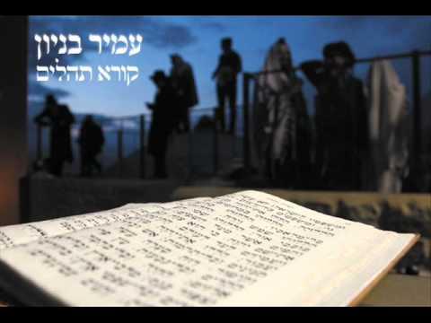 עמיר בניון תהלים Amir Benayoun