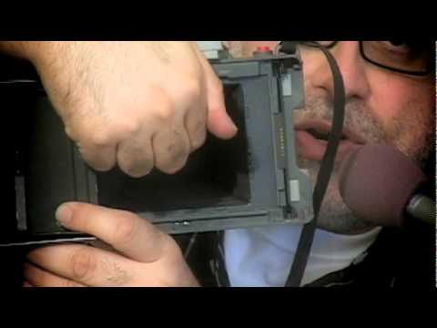 Polaroid Automatic Land Camera - Shutter Test