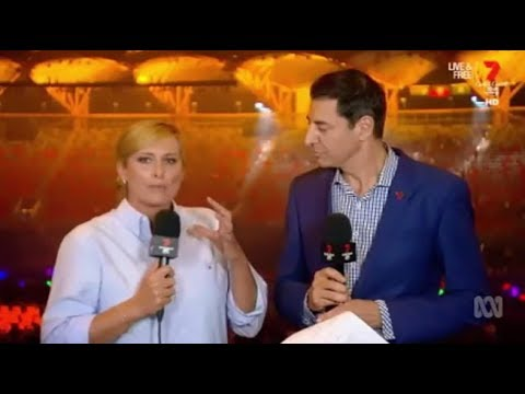 How much Ch7 knew about the Commonwealth Games closing ceremony