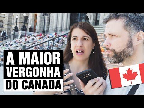 GENOCÍDIO CANADENSE: O HORROR das ESCOLAS RESIDENCIAIS do Canadá 🇨🇦