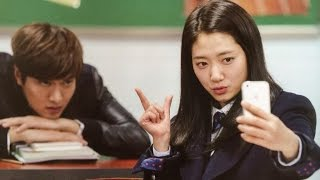 The heirs Lee min and park shin hye funny behind scene, Park shin hye with min ho sweet thumbnail
