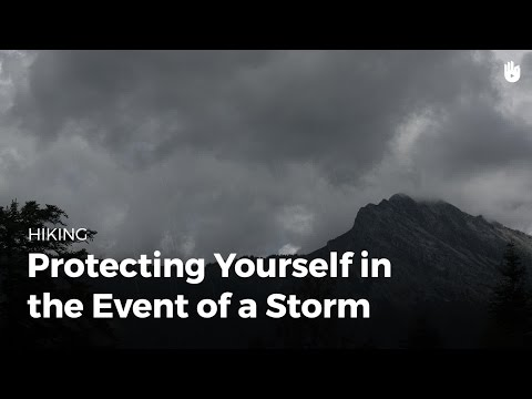 How to Stay Safe Backpacking in a Storm | Hiking