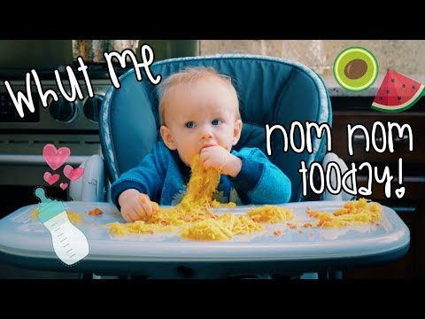 What my VEGAN BABY and I eat in a Day | WHOLE FOOD PLANT BASED