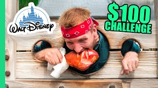 $100 Disney Food Challenge!!! Most EXPENSIVE Food on Earth!! thumbnail