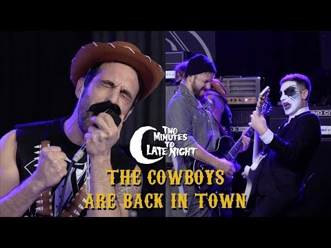 """Mutoid Man + Ben Weinman Cover """"Cowboy's Song"""" AND """"The Boys Are Back In Town"""""""
