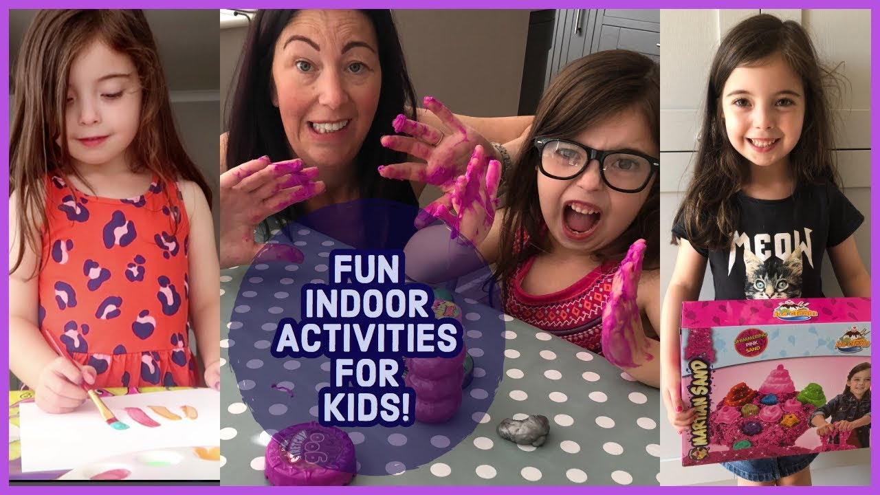 FUN INDOOR ACTIVITY IDEAS FOR KIDS IN THE HOLIDAYS FAMILY INSIDE