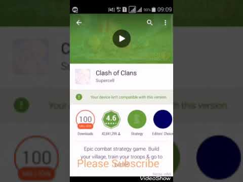 How To Download Clash Of Clan New Version In Android 4.44 Free By Aj Gamer