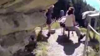 Scary Swiss Mountain Trail