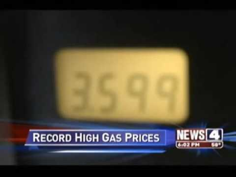 Gas Prices Hit Record Highs