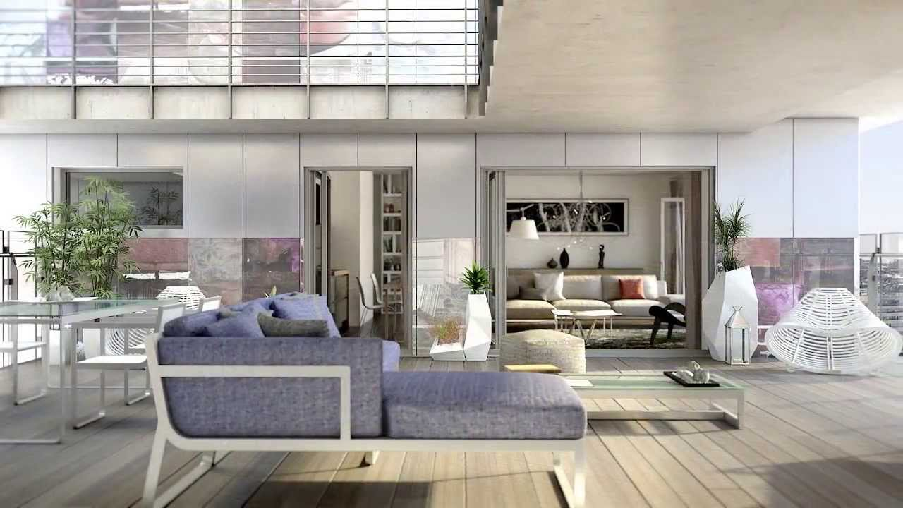 Paris parc17 appartement luxe youtube for Appartement design 80m2