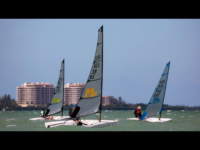 2020 Melges 14 Midwinters Day 1