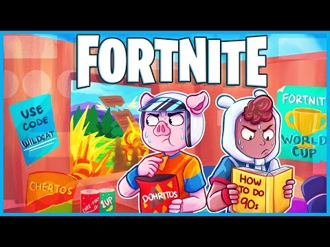 Fortnite but we pretend public games are the world cup like everyone else...