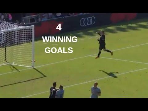 Wayne Rooney 4 Winning Goals in MLS 2018