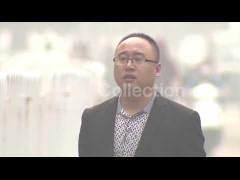 CHINA: HEAVY SMOG IN BEIJING