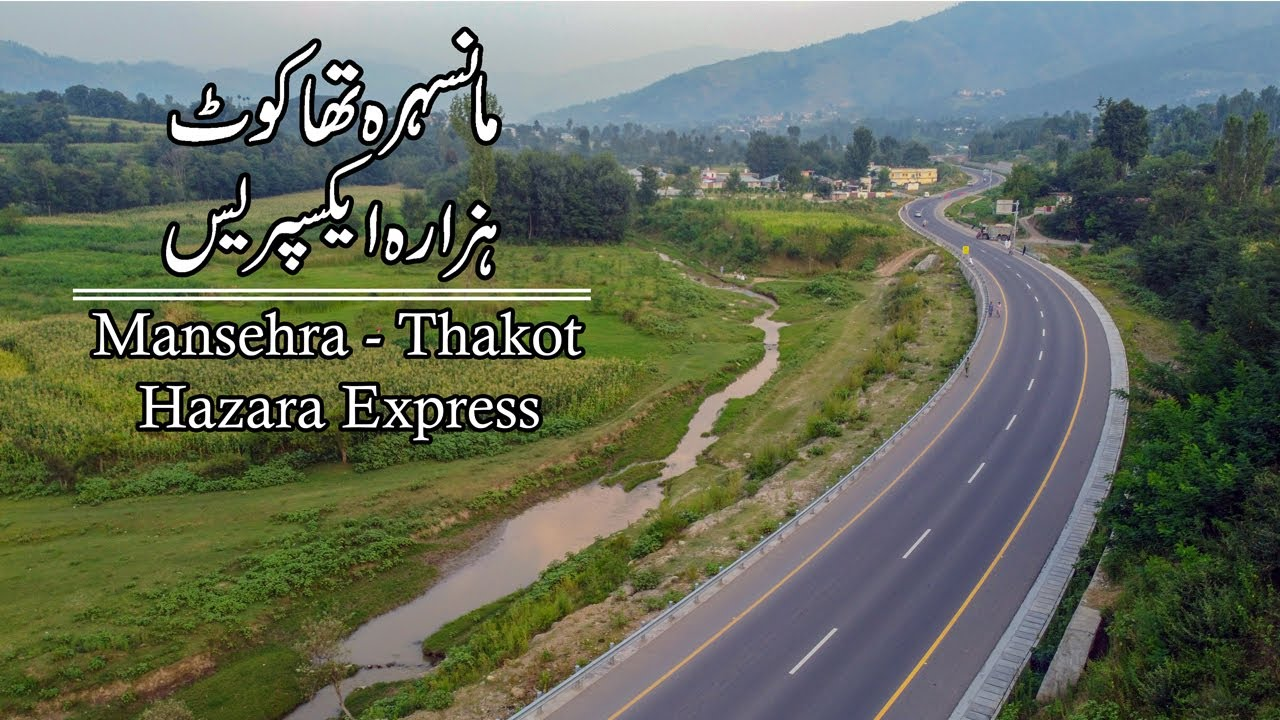 Mansehra Thakot Hazara Motorway Drone Footage | CPEC | Travel Pakistan