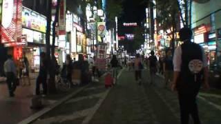 HD 720p walking in tokyo,shinjuku kabukicho thumbnail