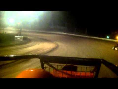 Midget path valley speedway Heat race 9/19/15