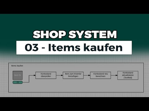 Unity Shop System - 03 - Items Kaufen - Unity 2017 - Deutsch/German