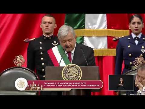 Toma de Protesta de Andrés Manuel López Obrador