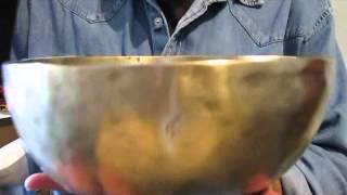campana tibetana antica N051 SOL2 99 HZ