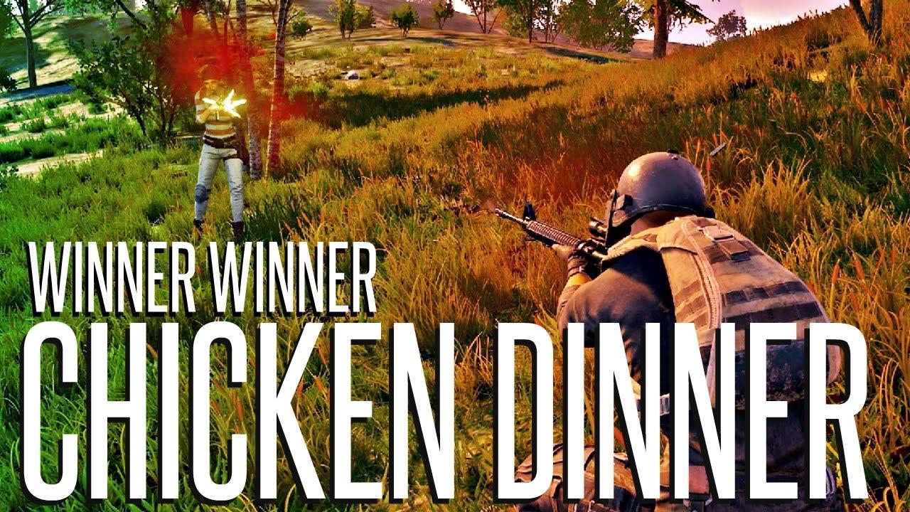 WINNER WINNER CHICKEN DINNER BATTLEGROUNDS