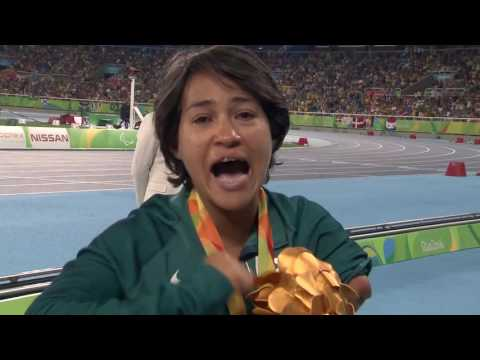Deja Young | Gold Medal Ceremony Women