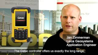LEICA iCON CC50 - Getac long range solution