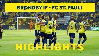 Sejren over FC St. Pauli i højdepunkter | brondby.com