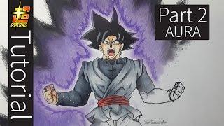 How To Draw Goku Black - Tutorial Part 2