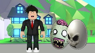 NEW HALLOWEEN EGGS and PETS NO ADOPT ME (Roblox)
