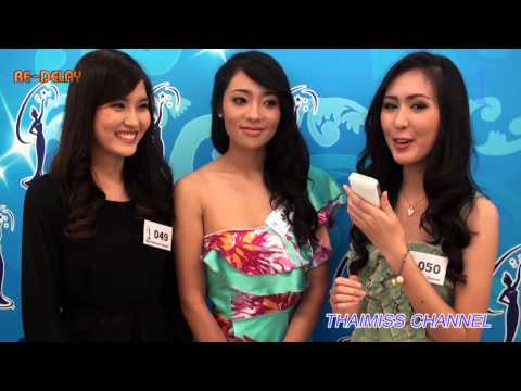 THAIMISS CHANNEL: บรรยากาศการรับสมัคร Miss Universe Thailand 2013 วันแรก