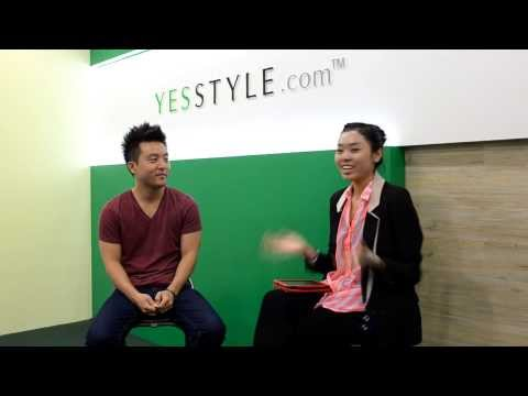 David Choi's interview with 24hrKPOP at the YesStyle office