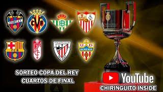 🔴 DIRECTO | SORTEO COPA DEL REY - CUARTOS DE FINAL | Chiringuito Inside