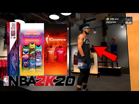 NEW NBA 2K20 THROWBACK JERSEYS ARE IN NBA STORE BEST DRIPPIEST OUTIFTS IN NBA 2K20 BEST OUTFITS 2K20