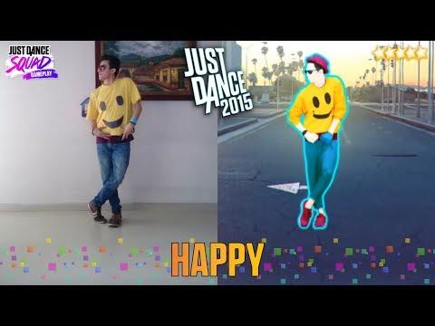 Just Dance 2015 - Happy.