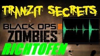 "TranZit Secrets: Richtofen Says ""No More to the TranZit Easter Egg""! (Audio Quotes Analysis)"
